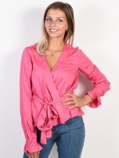 Billabong WRAPPED UP Sunset Pink dámské triko s dlouhým rukávem – růžová