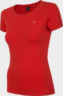 Dámské tričko 4F TSD300  Červená