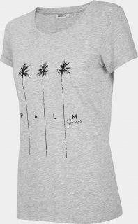 Dámské tričko Outhorn TSD617  Šedá