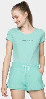 Dámské tričko 4F TSD237  mátově zelená