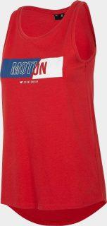 Dámské tričko 4F TSD018  Červená