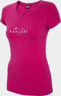 Dámské tričko 4F TSD150  Růžová