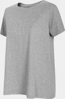 Dámské tričko 4F TSD304  Šedá