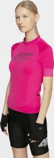 Dámské cyklistické tričko 4F RKD450  Růžová