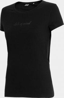 Dámské tričko 4F TSD250  Černá