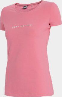 Dámské tričko 4F TSD242  Růžová