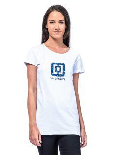 Horsefeathers NICKI white dámské triko s krátkým rukávem – bílá