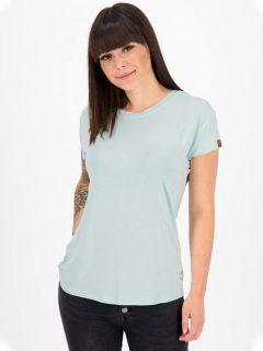 Alife and Kickin MimmyAK A ice dámské triko s krátkým rukávem – modrá