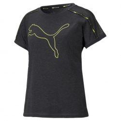 Dámské sportovní tričko Puma tmavě šedé