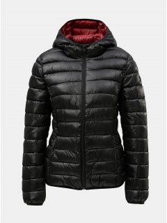Černá dámská prošívaná bunda s.Oliver