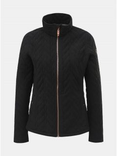 Černá dámská lehká fleecová bunda killtec Loorea