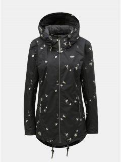 Černá dámská bunda s motivem Ragwear Zuzka