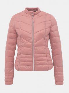 Růžová prošívaná bunda VERO MODA