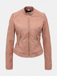 Růžová dámská konženková bunda Alcott