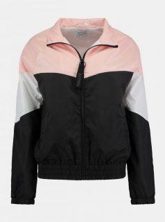 Růžovo-černá lehká bunda Haily´s