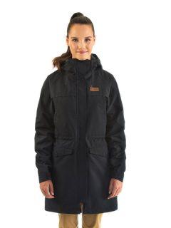 Horsefeathers ELSIE black podzimní bunda pro ženy – černá