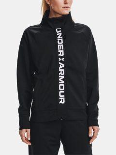 Bunda Under Armour Recover Tricot Jacket – černá