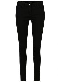 Černé slim fit džíny s vysokým pasem M&Co