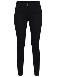 Černé dámské straight džíny M&Co