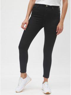 Černé super skinny džíny Miss Selfridge lizzie
