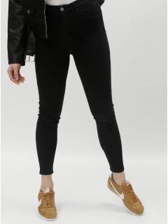 Černé skinny džíny s push-up efektem a vysokým pasem TALLY WEiJL