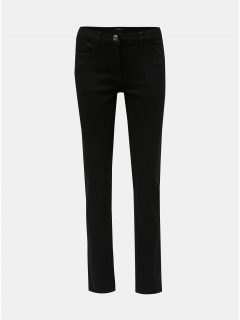 Černé straight fit džíny M&Co