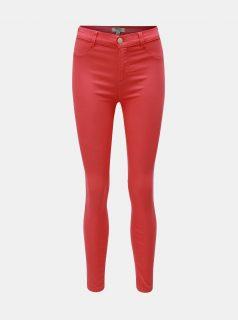 Růžové skinny fit džíny Dorothy Perkins Frankie