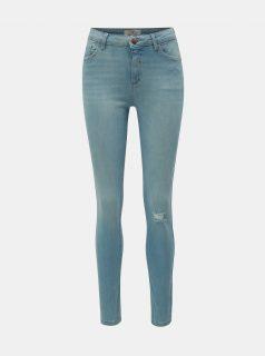 Světle modré skinny fit džíny Dorothy Perkins Tall Darcy