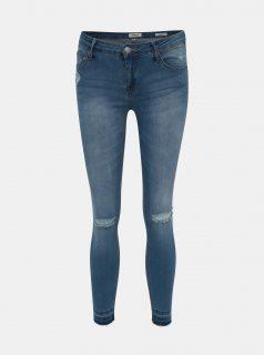 Modré dámské zkrácené slim fit džíny Haily´s Sarah