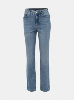 Modré straight fit džíny VERO MODA Sara