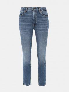 Modré slim fit džíny ONLY Sienna