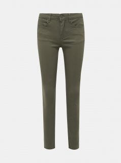 Khaki skinny fit džíny Jacqueline de Yong Five