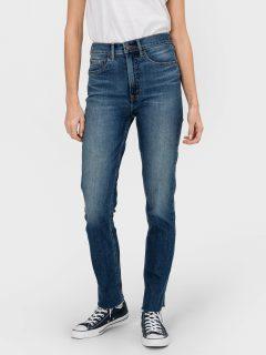Modré dámské džíny GAP Cigarette