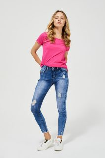 Moodo modré džíny