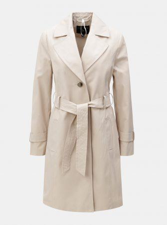 Béžový trenčkot s rozparkem Dorothy Perkins - Dámské kabáty e79f46df8c2