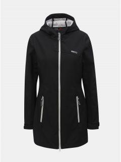 Černý dámský softshellový nepromokavý lehký kabát LOAP Lavinia