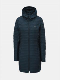 Tmavě modrý dámský prošívaný voděodpudivý lehký kabát LOAP Japa