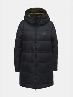 Černý dámský oboustranný kabát Nike