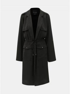 Černý lehký kabát TALLY WEiJL Dench