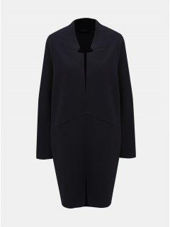 Tmavě modrý lehký kabát M&Co Plus