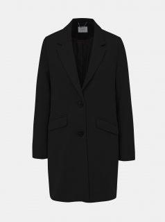 Černý dámský zimní kabát s příměsí vlny Alcott