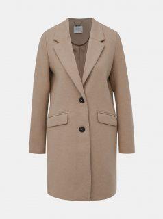Béžový dámský zimní kabát s příměsí vlny Alcott