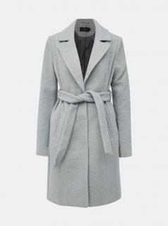 Šedý kabát VERO MODA Calalyon