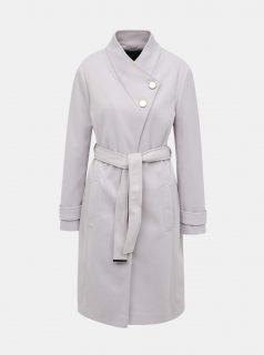 Světle šedý kabát Dorothy Perkins