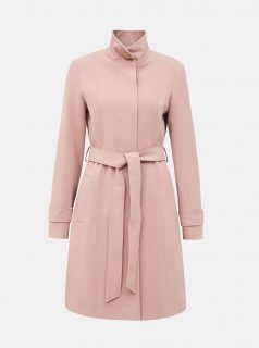 Světle růžový kabát Dorothy Perkins