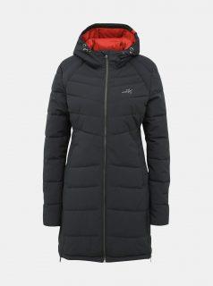 Tmavě modrý dámský funkční prošívaný zimní kabát Meatfly Olympa