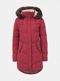 Červený zimní nepromokavý kabát Roxy Ellie