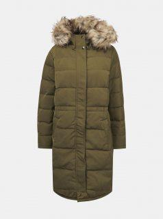 Khaki zimní prošívaný kabát VILA California
