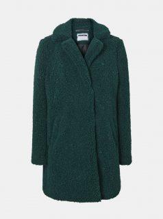 Zelený vzorovaný zimní kabát Noisy May Gabi