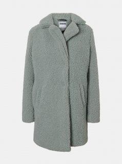 Mentolový zimní kabát Noisy May Gabi